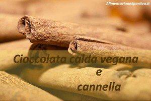 Cioccolata calda vegan con cannella