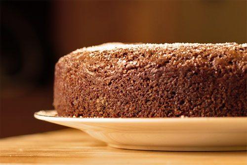 torta di nocciole leggera