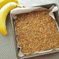 Barrette energetiche banana avena fai da te