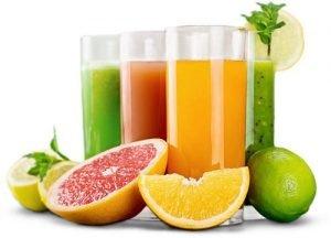 Succhi di frutta fatti in casa