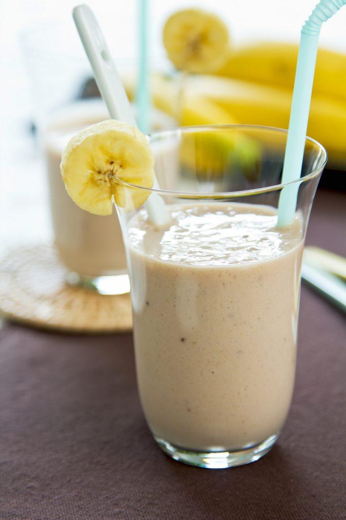 smoothie banana nocciole
