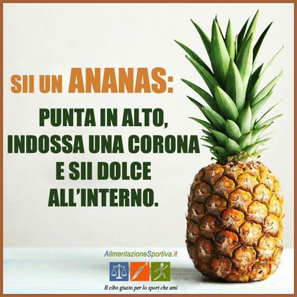 Ananas per allenamento