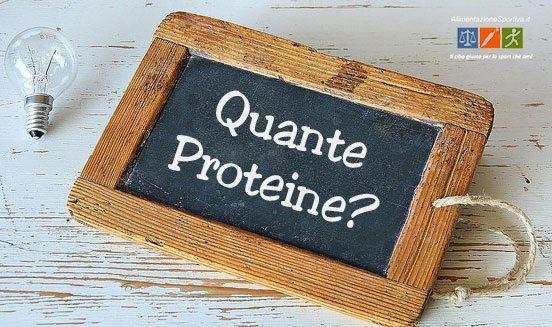 Assunzione di Proteine per un Atleta - Fabbisogno Proteico?