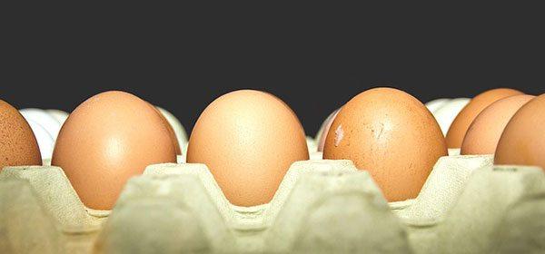 Uova confezionate