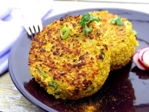 Polpette di quinoa al parmigiano