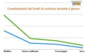 Come cambiano i livelli di cortisolo durante il giorno