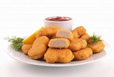 alimenti trasformati crocchette di pollo
