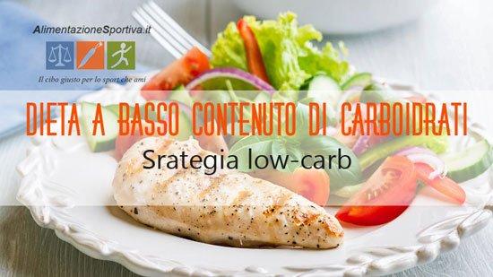 Dieta senza carboidrati o con pochi carboidrati