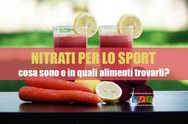 Nitrati per lo sport