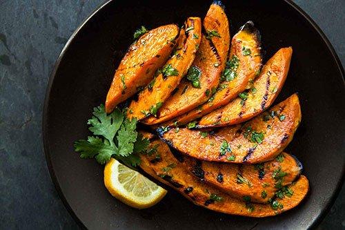 Patate dolci grigliate