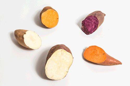Purea di patate dolci