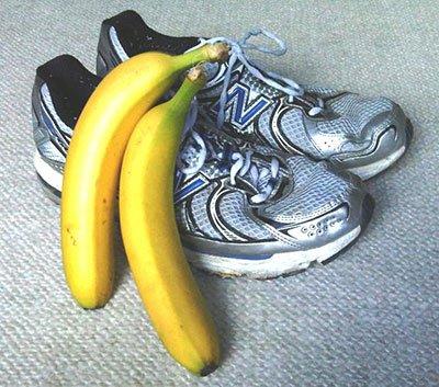 Le banane sono molto versatili prima di correre