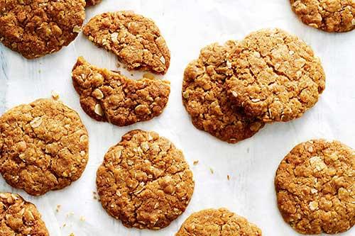 I biscotti possono avere come ingrediente l'eritritolo al posto dello zucchero.