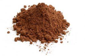 Cacao amaro composto ricco di ferro