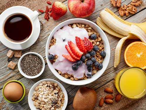 Cosa mangiare prima dell'allenamento mattutino