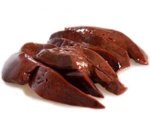 fegato di vitello fonte ricca di ferro