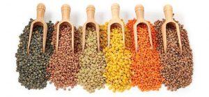 lenticchie legumi ricchi di ferro