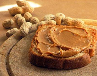 Il burro di arachidi aumenta il senso di sazietà