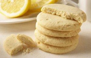 Biscotti Zenzero e Limone Frollini Vegani