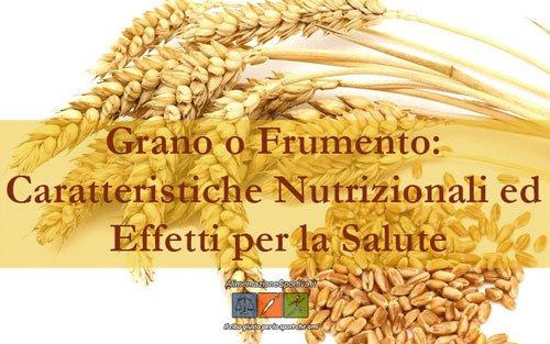 Grano: Valori Nutrizionali e Proprietà del Frumento