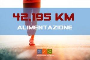 Corretta alimentazione per la maratona