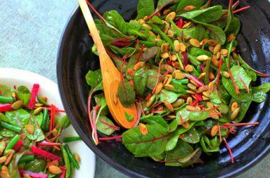 Elenco delle verdure verde scuro