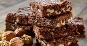 Brownie Al Cioccolato Fondente e Noci Per Chi Fa Sport