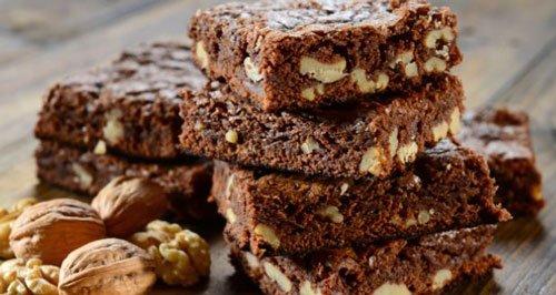 Brownie al cioccolato fondente e noci