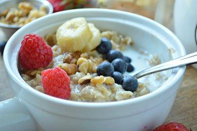 farina di avena porridge