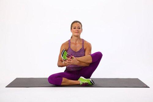 posizione a culla da seduti