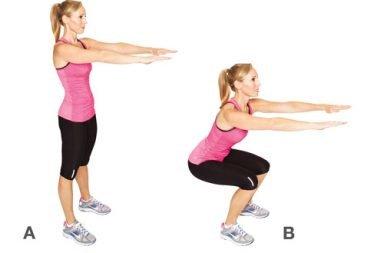 come fare squat