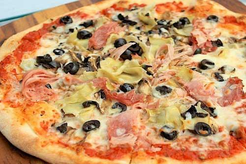 Ingredienti pizza capricciosa