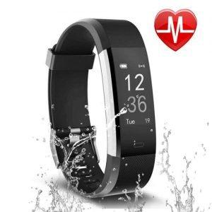 Letsfit Fitness Tracker Cardiofrequenzimetro