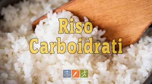 riso e carboidrati