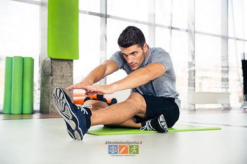 Esercizi Stretching schiena