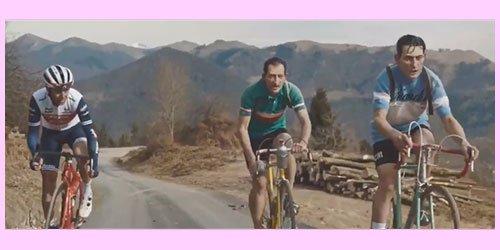 Pubblicità del Giro 2020 con Nibali