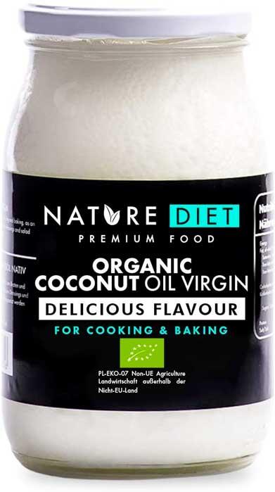 Olio di cocco alimentare spremuto a freddo