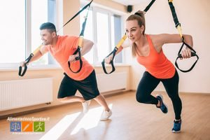 TRX cos'è benefici programma allenamento